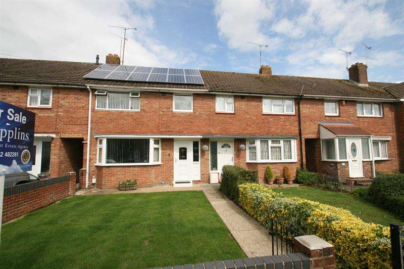 3 Bedrooms Terraced House for sale in Plaitford Grove, Havant