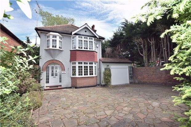 3 Bedrooms Detached House for sale in Sevenoaks Way, ORPINGTON, Kent, BR5 3AQ
