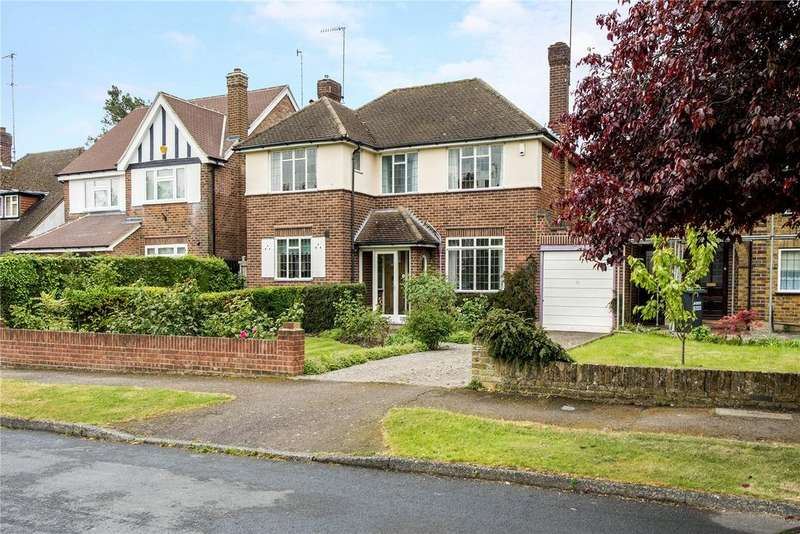 3 Bedrooms Detached House for sale in Ardross Avenue, Northwood, Middlesex, HA6