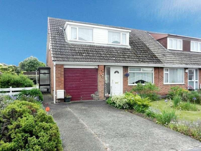 3 Bedrooms Semi Detached Bungalow for sale in Norfolk Road, Wrexham