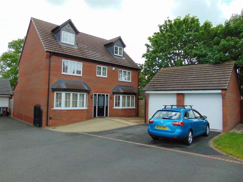 5 Bedrooms Detached House for sale in Limestone Close, Aldridge