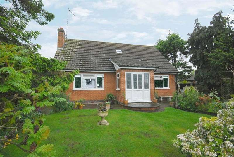3 Bedrooms Detached Bungalow for sale in Round Avenue, Long Lawford, RUGBY, Warwickshire