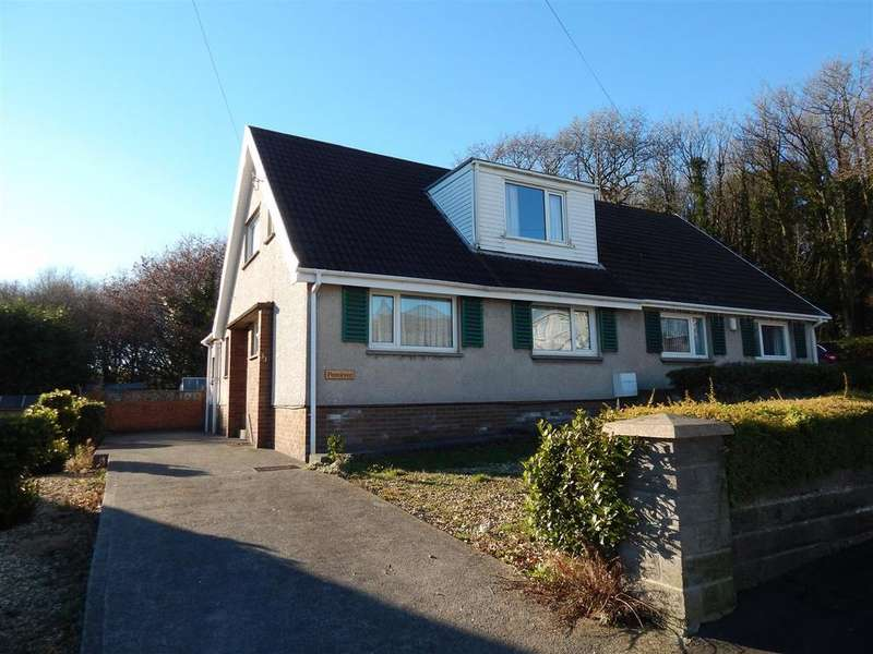 3 Bedrooms Semi Detached Bungalow for sale in Garth View, Ynysforgan, Swansea