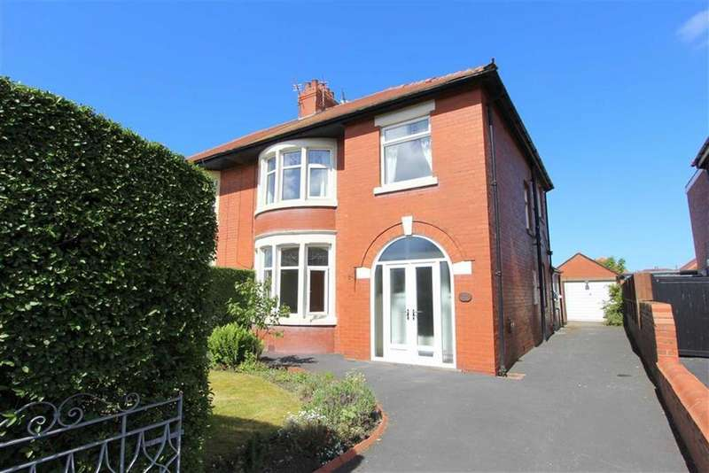 3 Bedrooms Semi Detached House for sale in Sandhurst Avenue, Lytham St Annes, Lancashire