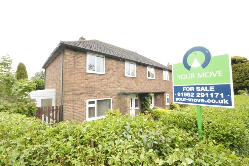 3 Bedrooms Semi Detached House for sale in The Grove Estate, St. Georges, Telford, TF2