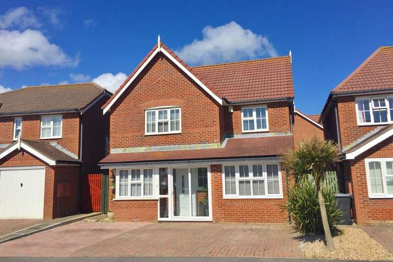 4 Bedrooms Detached House for sale in Magellan Way, Eastbourne, BN23