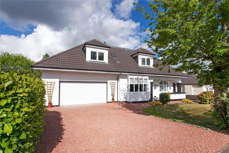 5 Bedrooms Detached Bungalow for sale in Broomley Drive, Giffnock, Glasgow, Lanarkshire