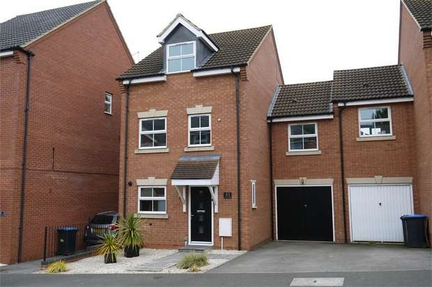 4 Bedrooms Semi Detached House for sale in Tungstone Way, Market Harborough, Leicestershire