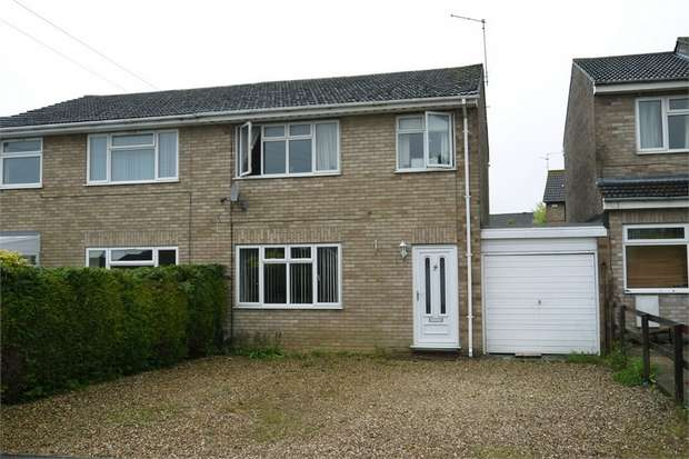 3 Bedrooms Semi Detached House for sale in Upper Dane, Desborough, Kettering, Northamptonshire