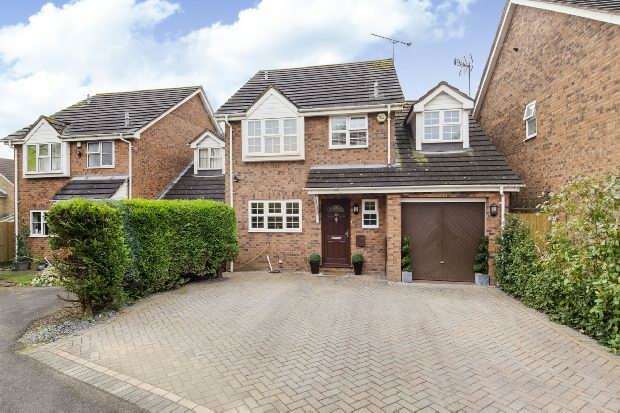 4 Bedrooms Detached House for sale in Bradmore Way, Lower Earley, Reading