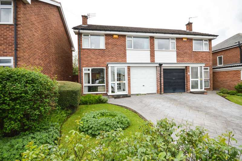 3 Bedrooms Semi Detached House for sale in Farnham Close, Cheadle Hulme