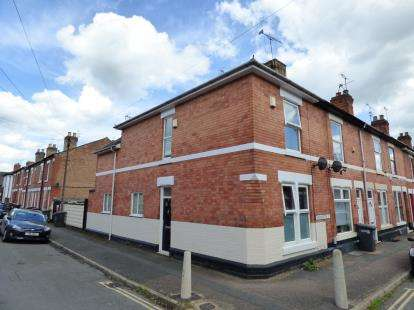2 Bedrooms End Of Terrace House for sale in Cross Street, Derby, Derbyshire