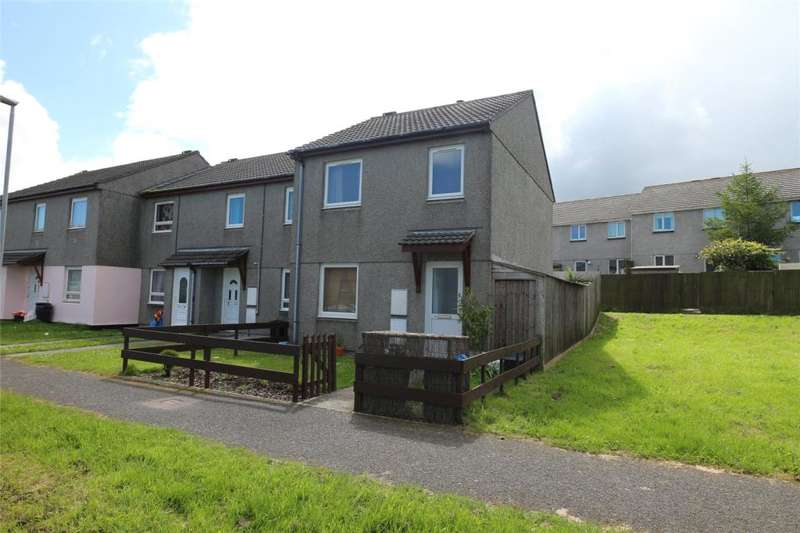 3 Bedrooms End Of Terrace House for sale in Rock Close, Pengegon, Camborne