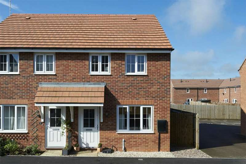 2 Bedrooms Semi Detached House for sale in Freshman Way, Market Harborough, Leicestershire