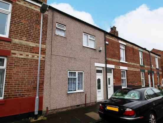 3 Bedrooms Terraced House for sale in Shildon Street, Darlington, Dorset, DL1 2HS
