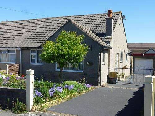 2 Bedrooms Semi Detached Bungalow for sale in Gaisgill Avenue, Westgate, Morecambe LA4