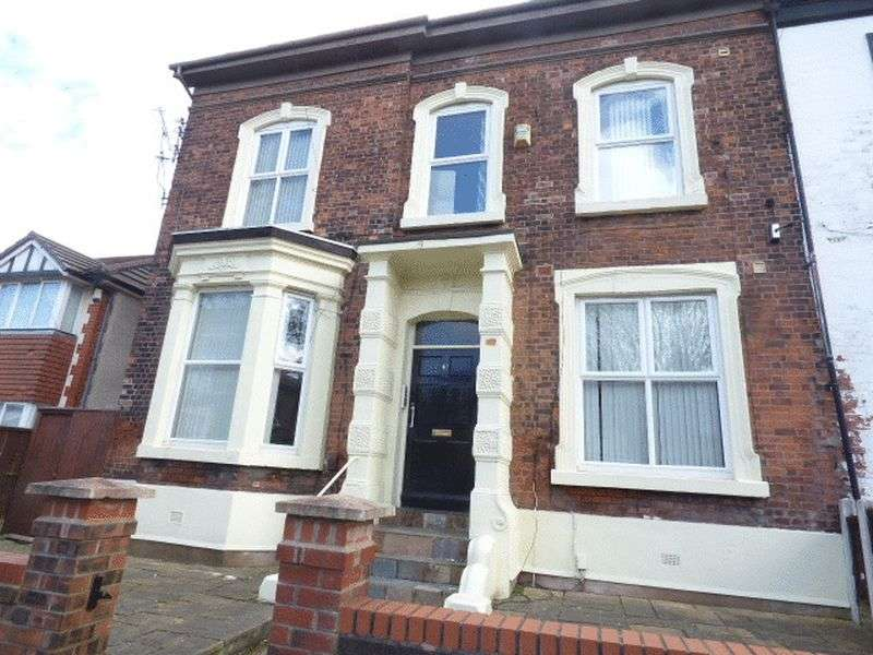 5 Bedrooms Semi Detached House for sale in Balmoral Road, Fairfield, Liverpool L6