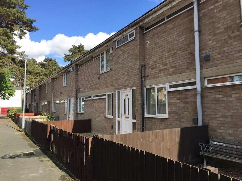 3 Bedrooms Terraced House for sale in St. Johns Close, Mildenhall