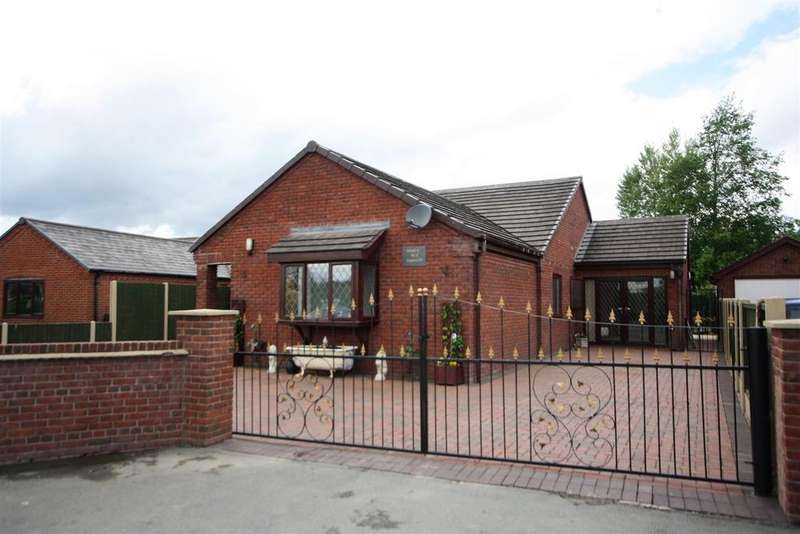 3 Bedrooms Detached Bungalow for sale in Overton Road, St. Martins, Oswestry