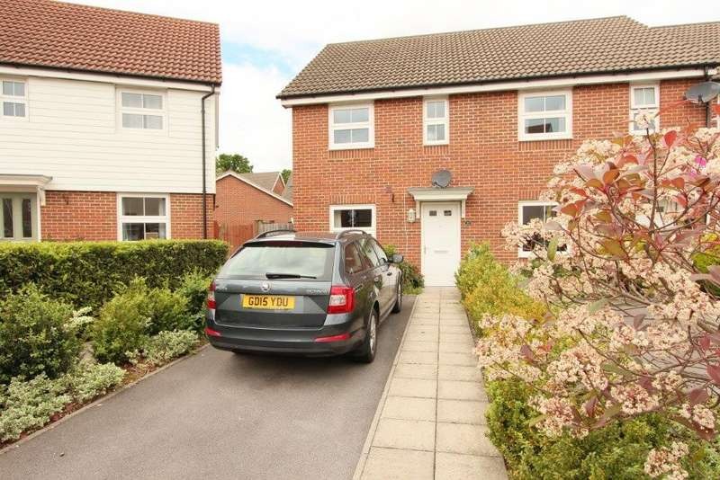 3 Bedrooms End Of Terrace House for sale in Hansen Gardens, Hedge End SO30