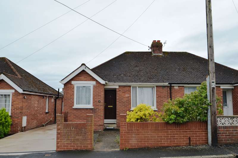 2 Bedrooms Semi Detached Bungalow for sale in EXETER