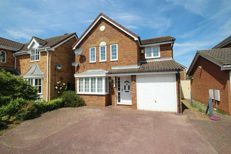 4 Bedrooms Detached House for sale in Deben Valley Drive, Grange Farm, Kesgrave, Ipswich