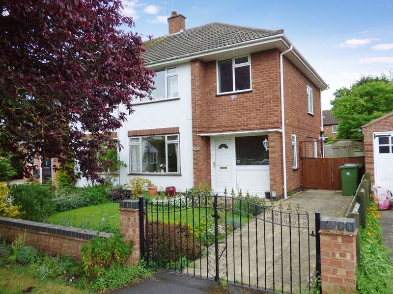 3 Bedrooms Semi Detached House for sale in Dunblane Drive, Leamington Spa