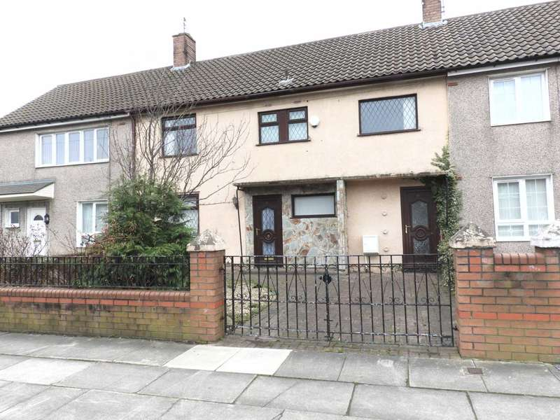 4 Bedrooms Terraced House for sale in Petherick Road, Croxteth