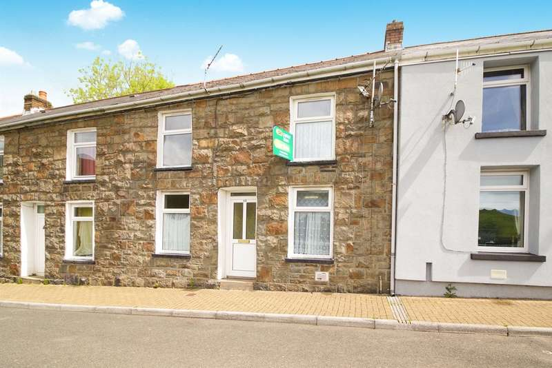 2 Bedrooms Terraced House for sale in Pembroke Terrace, Nantymoel, Bridgend
