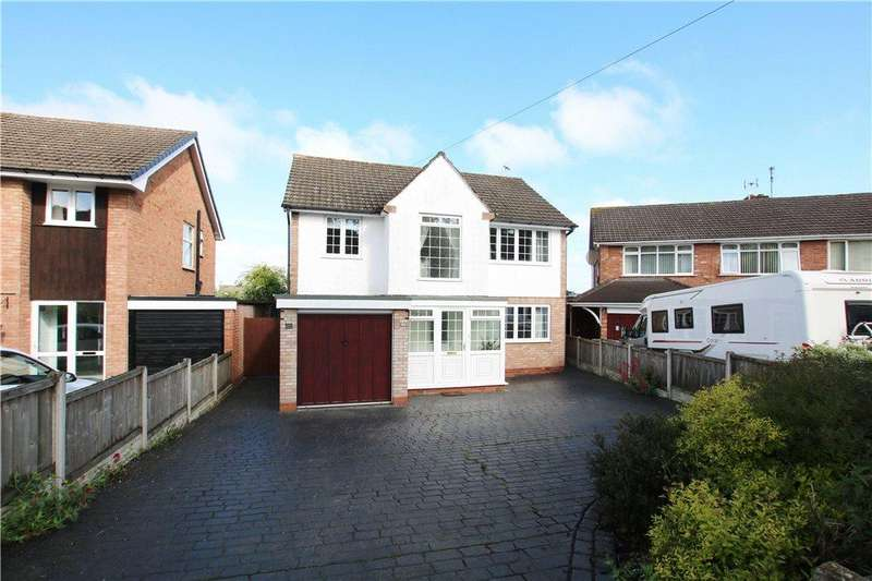 4 Bedrooms Detached House for sale in Vicarage Crescent, Batchley, Redditch, Worcestershire, B97