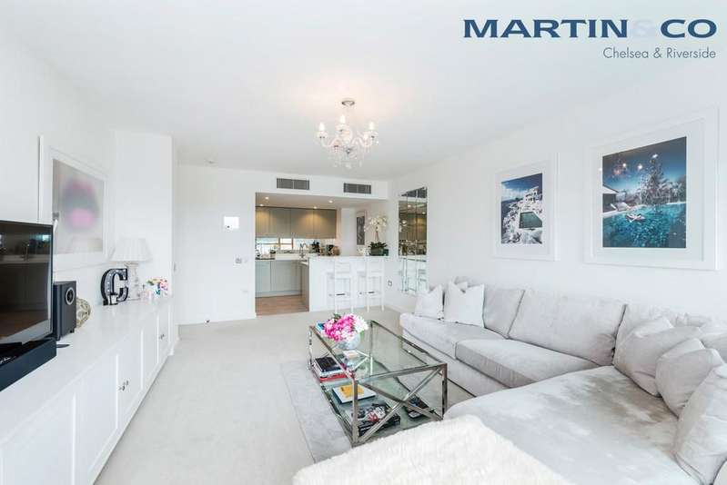 1 Bedroom Apartment Flat for sale in Falcon Wharf, 34 Lombard Road