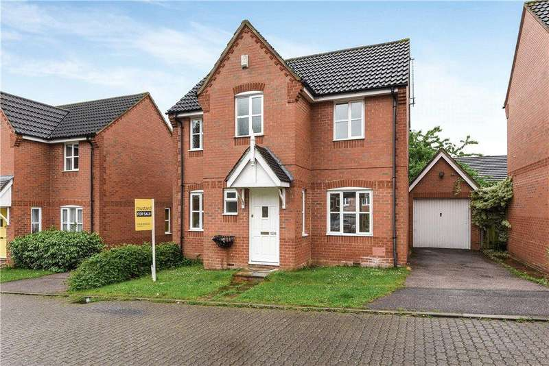 3 Bedrooms Detached House for sale in Springfield Boulevard, Springfield, Milton Keynes, Buckinghamshire