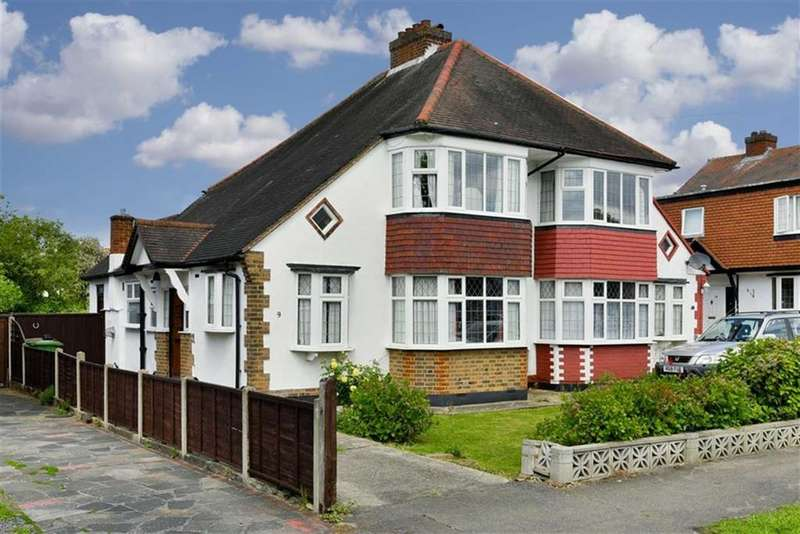 3 Bedrooms Semi Detached House for sale in Gayfere Road, Stoneleigh, Surrey