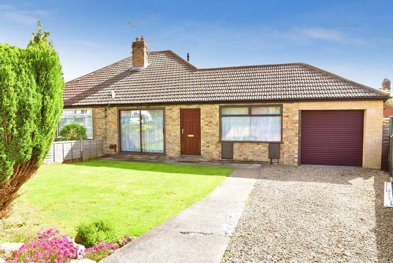 2 Bedrooms Semi Detached Bungalow for sale in Wedderburn Close, Harrogate