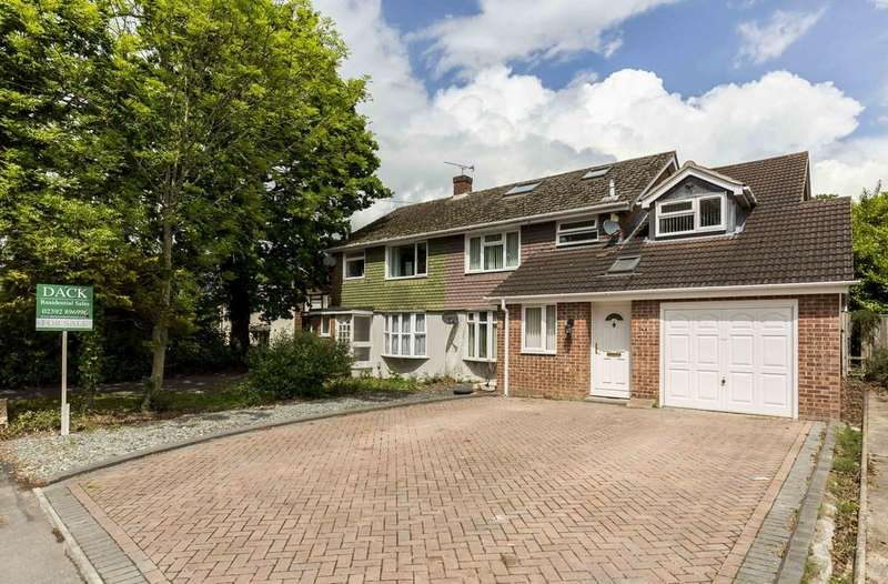 4 Bedrooms Semi Detached House for sale in Durley Avenue, Waterlooville