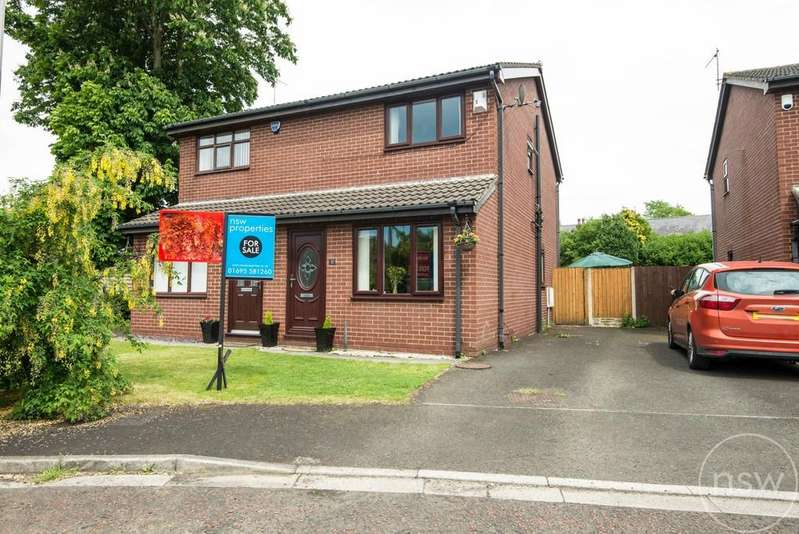 2 Bedrooms Semi Detached House for sale in Sanfield Close, Ormskirk