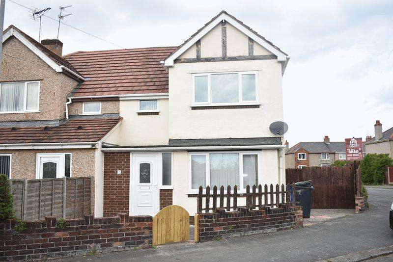 3 Bedrooms Semi Detached House for sale in Brookdale Road, Rhyl