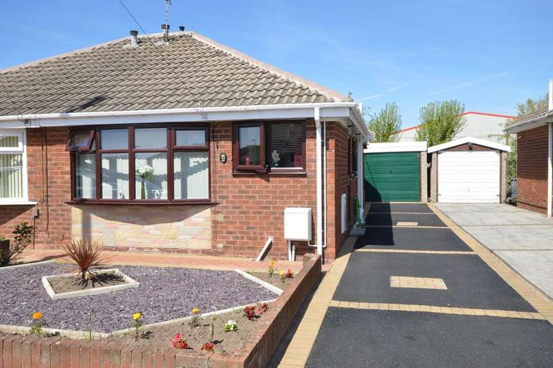 2 Bedrooms Semi Detached Bungalow for sale in Halton Gardens, Marton