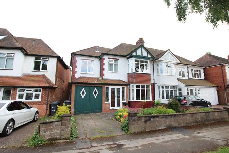 4 Bedrooms Semi Detached House for sale in Ingestre Road, Hall Green, Birmingham