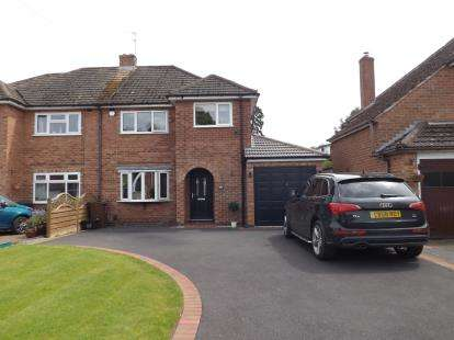 3 Bedrooms Semi Detached House for sale in Neville Road, Shirley, Solihull, West Midlands