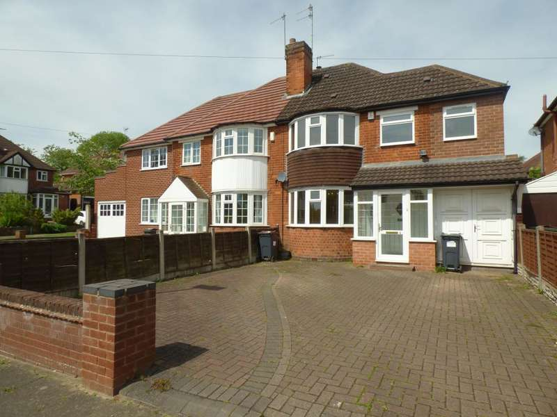 3 Bedrooms Semi Detached House for sale in Battenhall Road, Harts Green Road, Harborne, Birmingham, B17 9UD