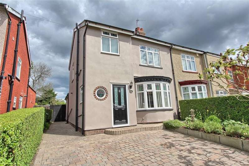 3 Bedrooms Semi Detached House for sale in Station Road, Billingham