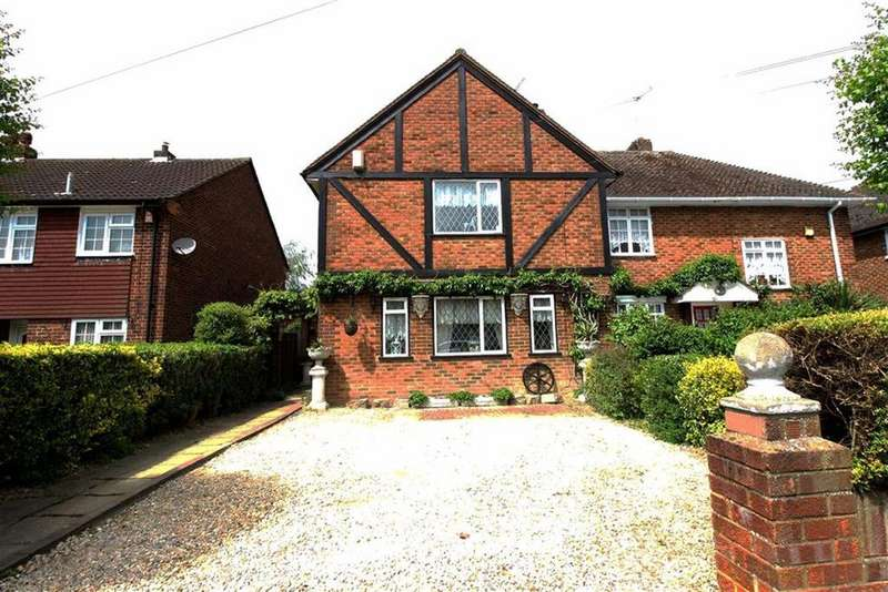 3 Bedrooms Semi Detached House for sale in Downbarns Road, South Ruislip