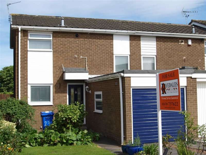 2 Bedrooms Terraced House for sale in Ringwood Drive, Cramlington