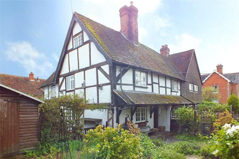 2 Bedrooms Semi Detached House for sale in Cross Farm Cottages, The Street, Crookham Village, Fleet, GU51