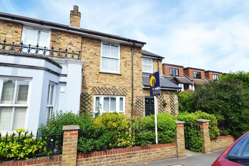 2 Bedrooms Semi Detached House for sale in Wellington Road, Hampton Hill, TW12