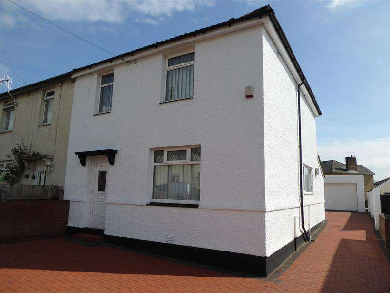 3 Bedrooms Semi Detached House for sale in Hillside Terrace, Bedwas, Caerphilly