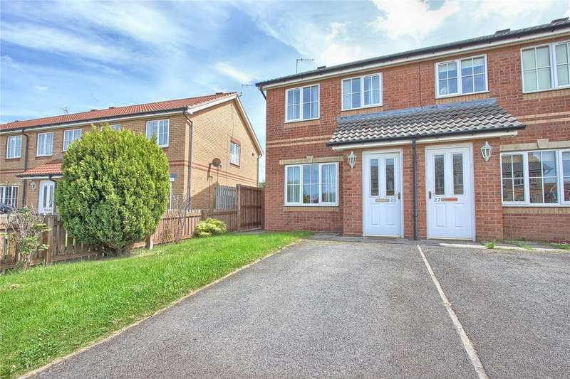 2 Bedrooms Semi Detached House for sale in Cranbourne Drive, Redcar