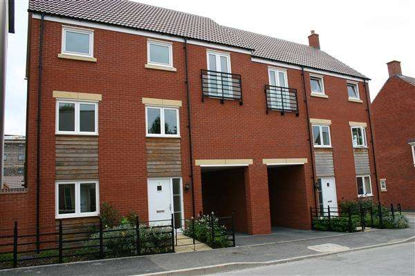 4 Bedrooms Semi Detached House for rent in Seacole Crescent, Swindon