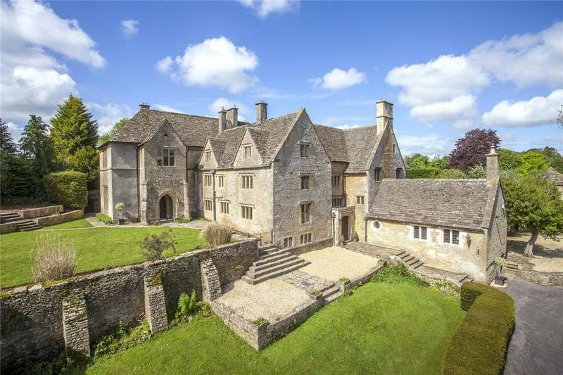 8 Bedrooms Detached House for sale in Daglingworth Manor, Daglingworth, Cirencester, Gloucestershire, GL7